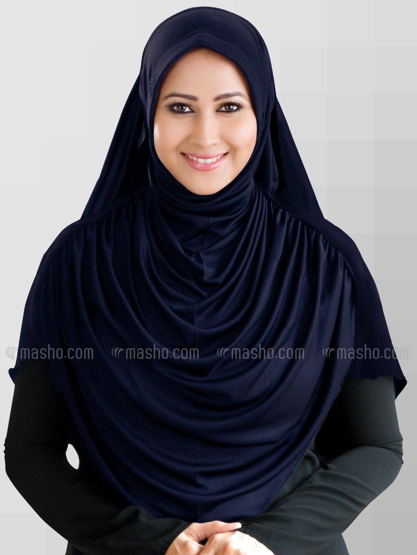Faeezah Hijab In Navy