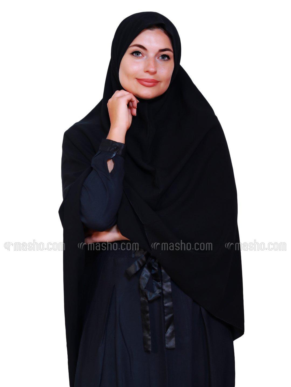 Salafi Nida Matte Instant Hijab In Black