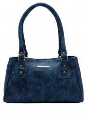 Lapis O Lupo Women Synthetic Handbag - Blue - image