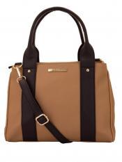 Lapis O Lupo Kasha Women Synthetic Handbag - Beige Image
