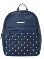 Lapis O Lupo Synthetic Dong Repeat Women Backpack - Blue