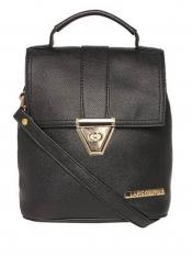 Lapis O Lupo Synthetic Candy Women Backpack - Black