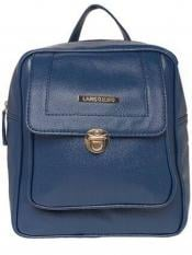 Lapis O Lupo Synthetic  Teal Women Backpack - Blue
