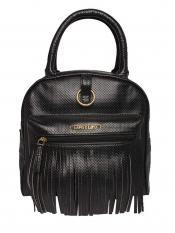 Lapis O Lupo Synthetic Gross Guff Women Backpack - Black