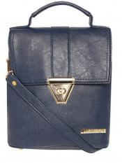 Lapis O Lupo Synthetic Candy Women Backpack - Blue