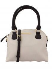 Lapis O Lupo Ivory Women Neno Synthetic Handbag - Off white
