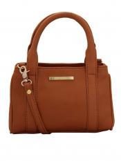 Lapis O Lupo Zap Women Neno Synthetic Handbag - Tan