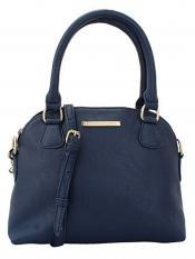 Lapis O Lupo Austere Women Neno Synthetic Handbag - Blue