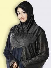 Mehar Hijab In Black