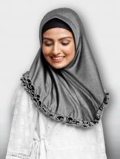 Faiqa Instant Hijabs In Grey