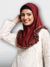Faiqa Instant Hijabs In Maroon