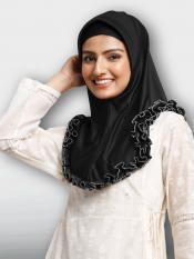 Faiqa Instant Hijabs In Black