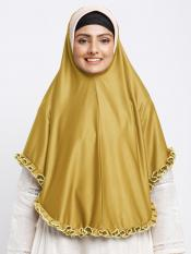 Erina Instant Hijabs In Yellow And Beige