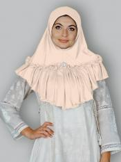 Aaima Instant Hijabs In Cream