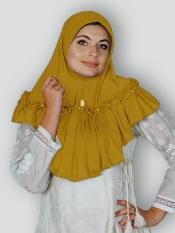 Aaima Instant Hijabs In Mustard