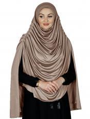 Farah Instant Hijabs In Brown