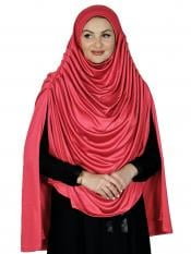 Farah Instant Hijabs In Red