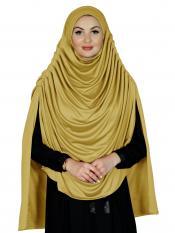 Farah Instant Hijabs In Mustard