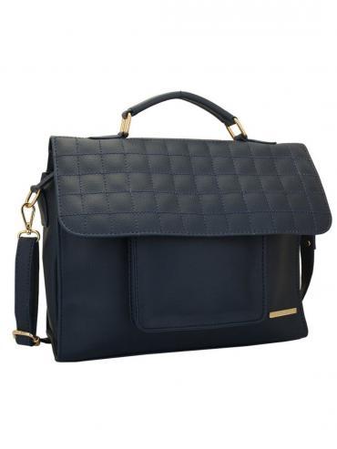 Impure Women Synthetic Sling Bag - Blue