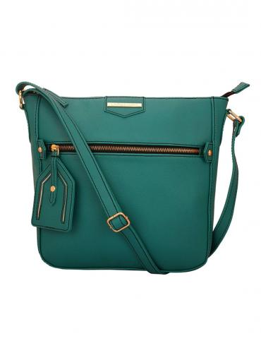 Pearl Mystic Women Synthetic Sling Bag - Turquoise