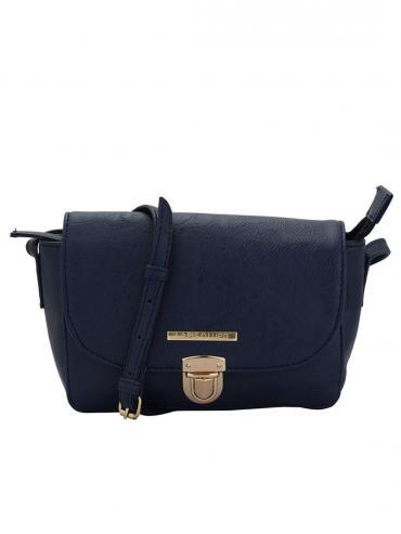 Lewd Women Sling Synthetic Bag - Blue
