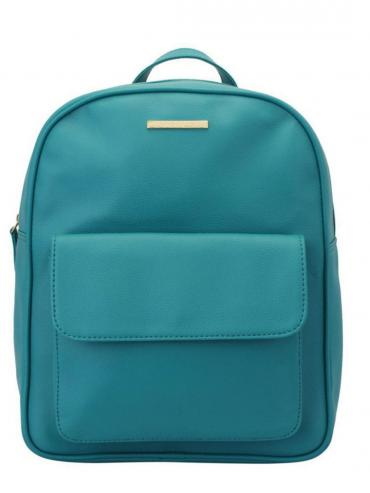 Synthetic Beryl Women Backpack - Tourquise