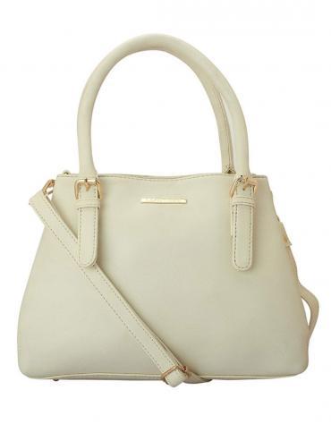 Navajo White Women Synthetic Handbag - Off White