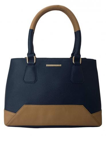 Arancione Women Synthetic Handbag - Blue