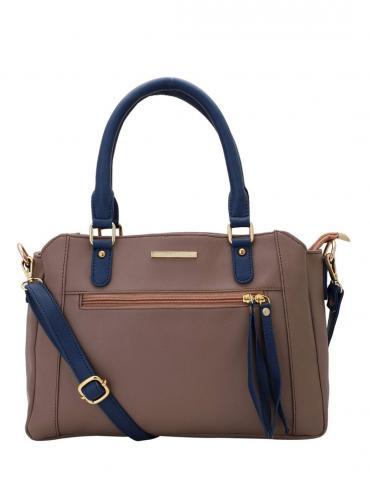 Women Synthetic Handbag - Peach
