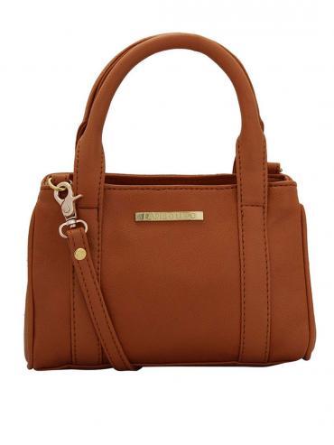 Zap Women Neno Synthetic Handbag - Tan
