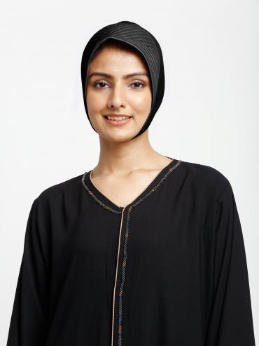 Reyah Under Hijab Cap In Black