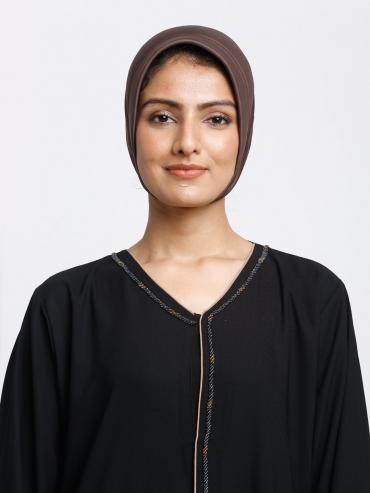 Reyah Under Hijab Cap In Brown