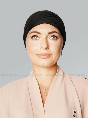 Jersy Viscose Under Hijab In Black