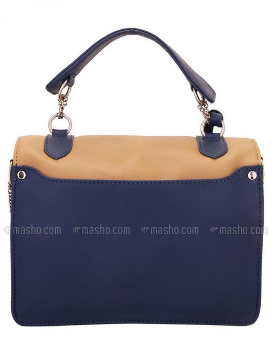 Mocha Women Synthetic Sling Bag - Beige