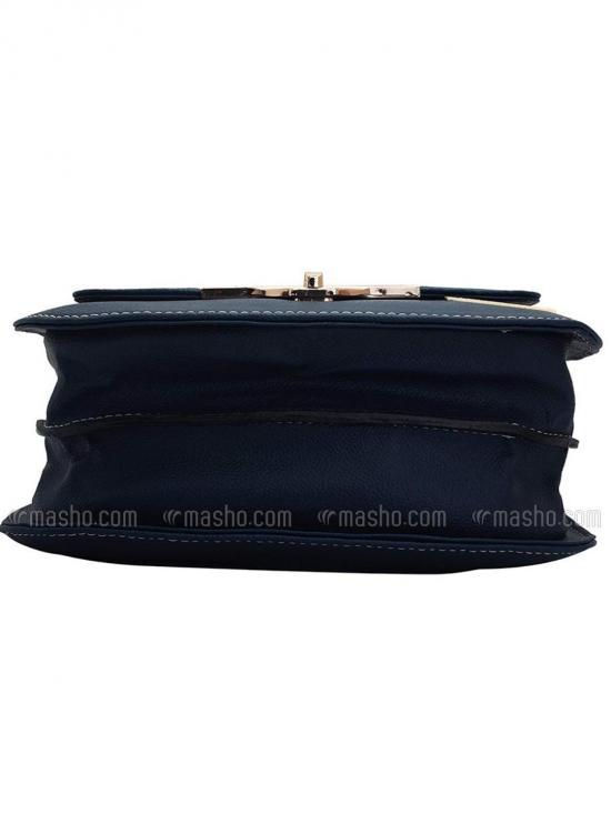 Fonce Women Synthetic Sling Bag - Blue