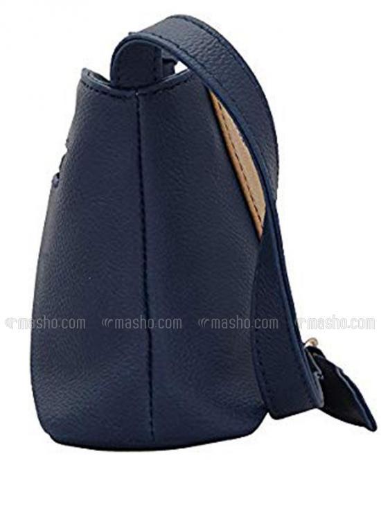Bleak Women Synthetic Sling Bag - Blue