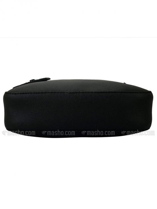 Onyx Women Synthetic Sling Bag - Black