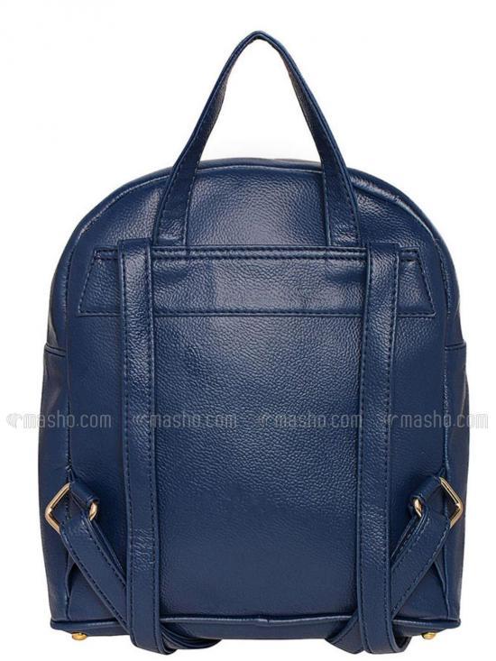 Synthetic Opel Arine Women Backpack - Blue