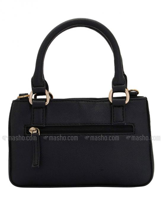 Brunet Women Neno Synthetic Handbag - Black