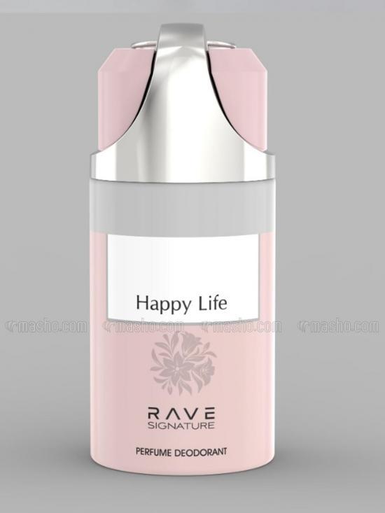 Happy Life 250 ml Deodorant Spray For Men And Women