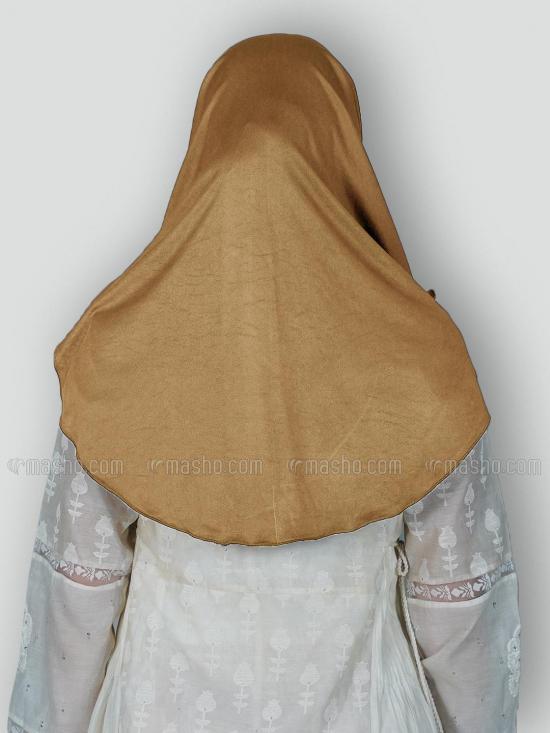 Aaima Instant Hijabs In Dark Wheat