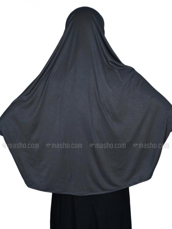 Farashah Instant Hijabs With Sleeve In Grey