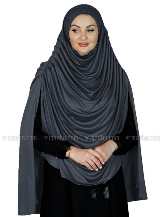 Farah Instant Hijabs In Grey