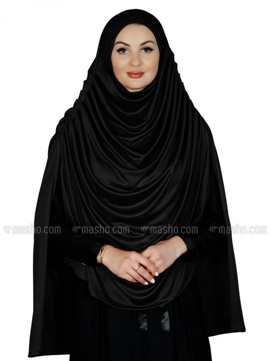 Farah Instant Hijabs In Black