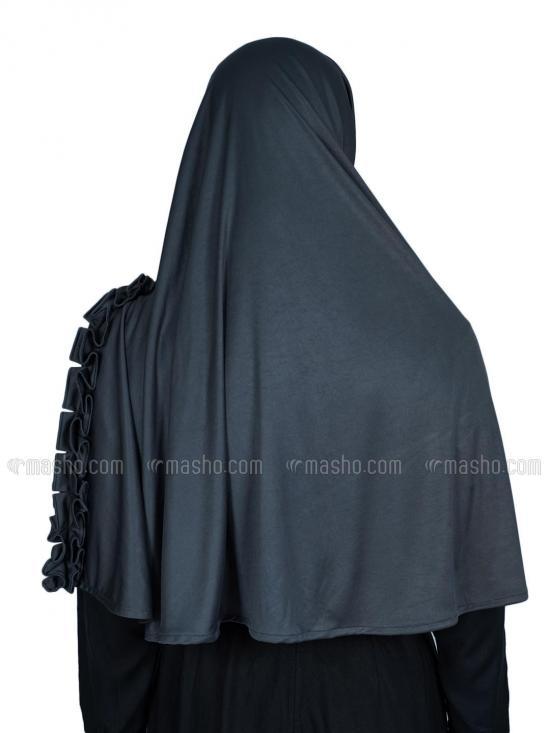 Aiza Instant Hijab In Grey